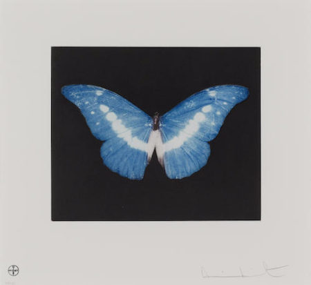 Damien Hirst-Blue Butterfly, To Begin-2008