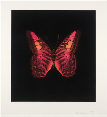 Damien Hirst-Butterfly Red, Memento-2008