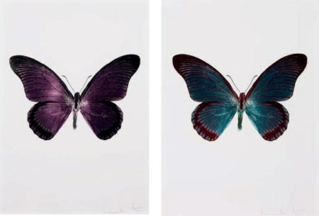 Damien Hirst-Butterfly (The Souls IV)-