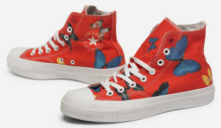 Damien Hirst-Chuck Taylor All Star Shoes-2010