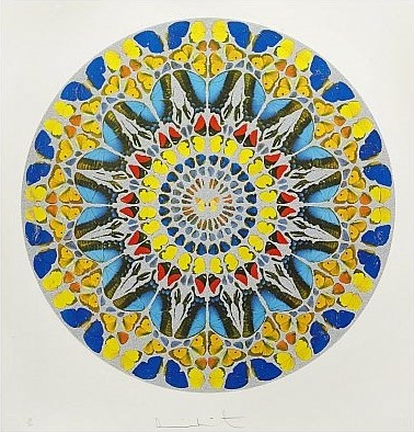 Damien Hirst-Confitebor Tibi (from Psalm Prints)-2009