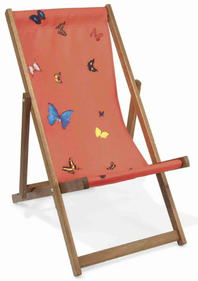 Damien Hirst-Deck Chair (Red)-2008