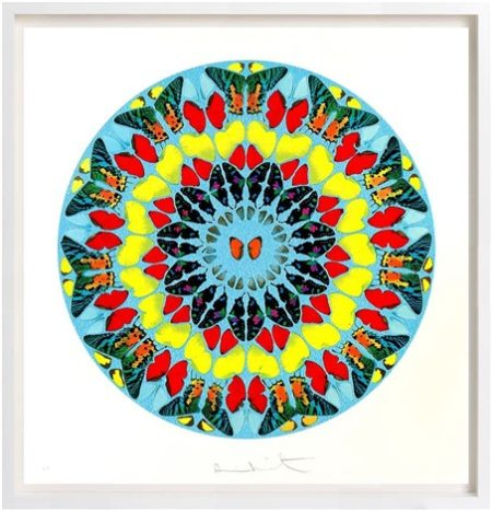 Damien Hirst-Dixit Insipiens (from Psalm Prints)-2009