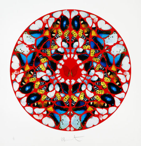 Damien Hirst-Domine ne in Furore (from Psalm Prints)-2010