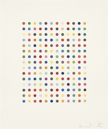 Damien Hirst-Ethidium Bromide Aqueous Solution-2005
