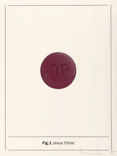 Damien Hirst-Fig.1 Jesus Christ (Aus: The Apostles)-2005