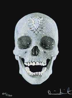 Damien Hirst-For the Love of God, Believe-2007