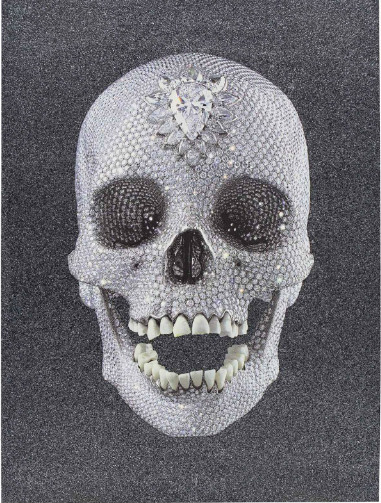 Damien Hirst-For the Love of God, Enlightenment-2012