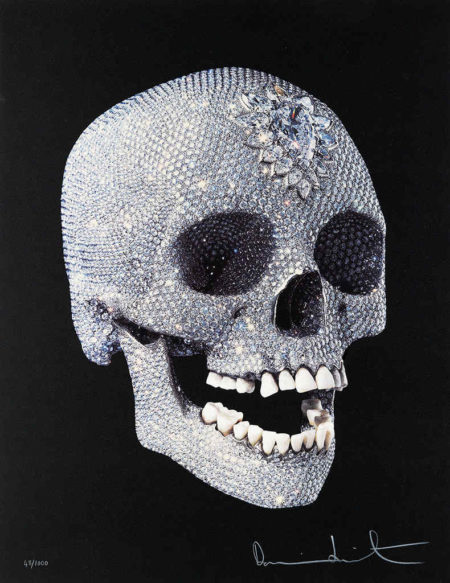 Damien Hirst-For the Love of God, Shine-2011