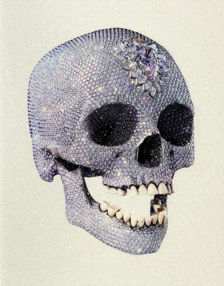 Damien Hirst-For the Love of God (White)-2011