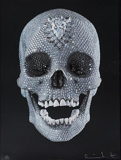 Damien Hirst-For the Love of God, Wonder-2007