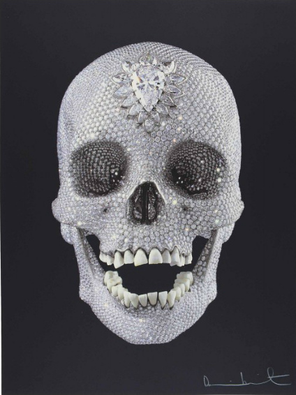 Damien Hirst-For the Love of God, Wonder-2012