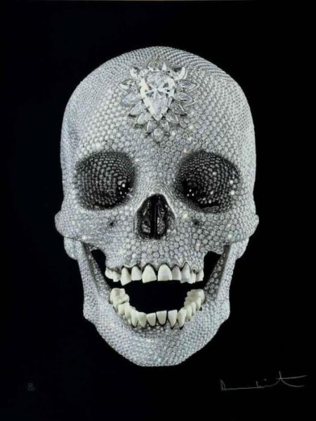 Damien Hirst-For the Love of God, Wonder-2009