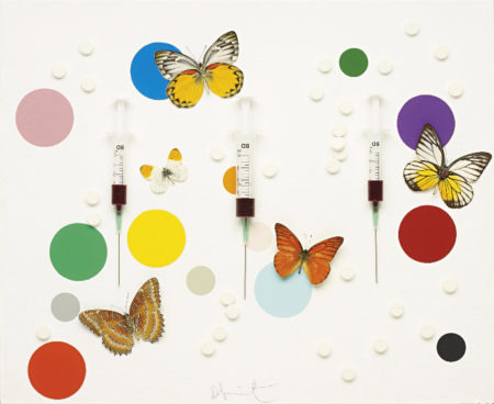 Damien Hirst-Happiness-2008