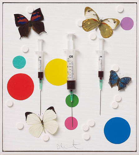 Damien Hirst-Happy-2008