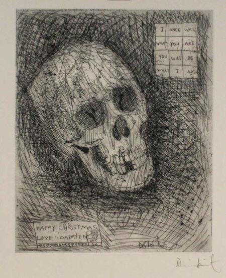 Damien Hirst-Happy Christmas (Skull)-2007