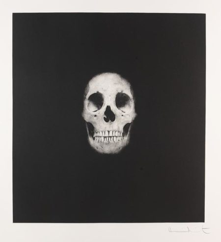 Damien Hirst-I Once Was What You Are, You Will Be What I am (Skull II)-2007