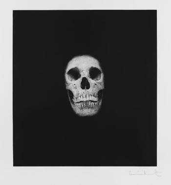 Damien Hirst-I Once Was What You are, You Will be what I am (Skull IV)-2007