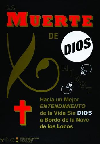 Damien Hirst-La Muerte De Dios-2006
