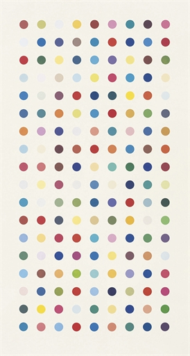 Damien Hirst-Methamphetamine-2004