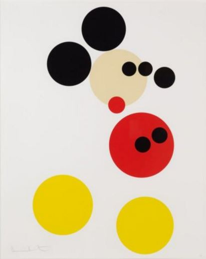 Damien Hirst-Mickey Mouse-