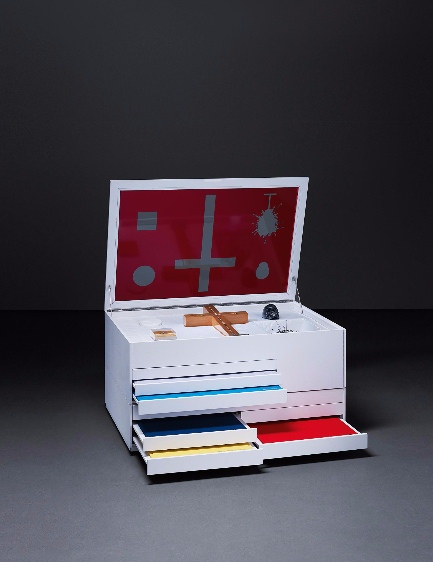 Damien Hirst-New Religion, St. Andrew-2005