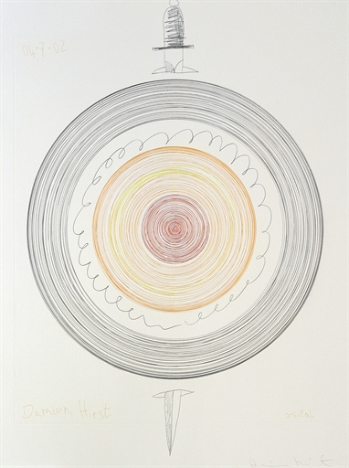 Damien Hirst-Orbital-2008