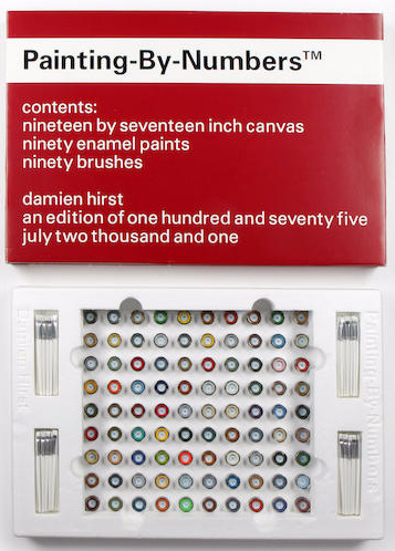 Damien Hirst-Painting by Numbers-2001