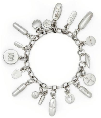 Damien Hirst-Pharmaceutical Pills Charm Bracelet-2004