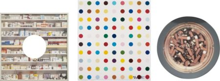 Damien Hirst-Pharmacy; Home Sweet Home; and Opium-1996