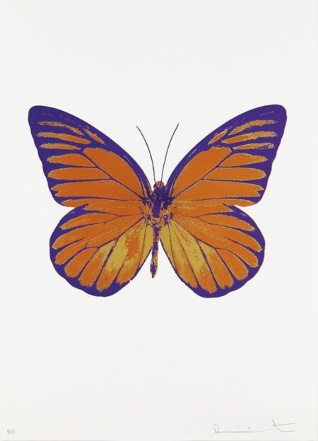Damien Hirst-Prairie Copper/Oriental Gold/Imperial Purple, from The Souls I-2010