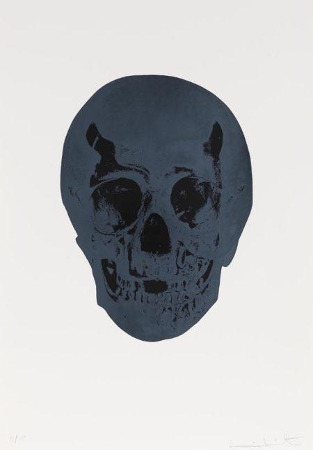 Damien Hirst-Racing Green, Raven Black Skull, The Dead-2009