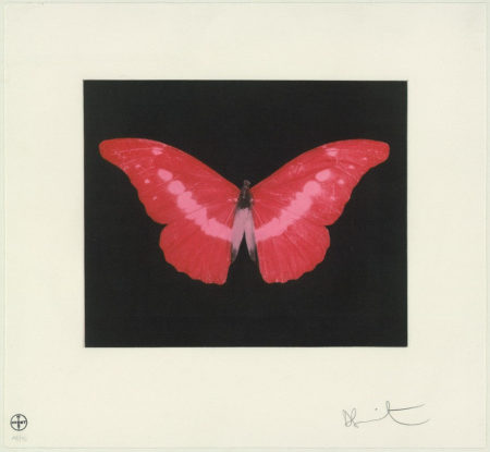 Damien Hirst-Red Butterfly, To Lose-2008