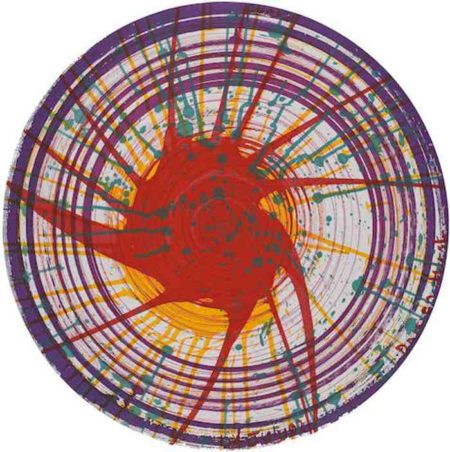 Damien Hirst-Round from In a Spin the Action of the World on Things Volume I-2002