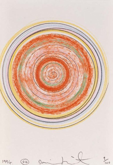 Damien Hirst-Spin Drawing-1994