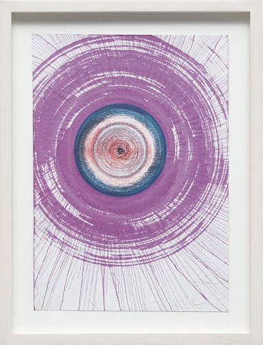 Damien Hirst-Spin Drawing-2002