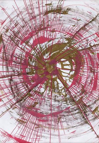 Damien Hirst-Spin Drawing-2002