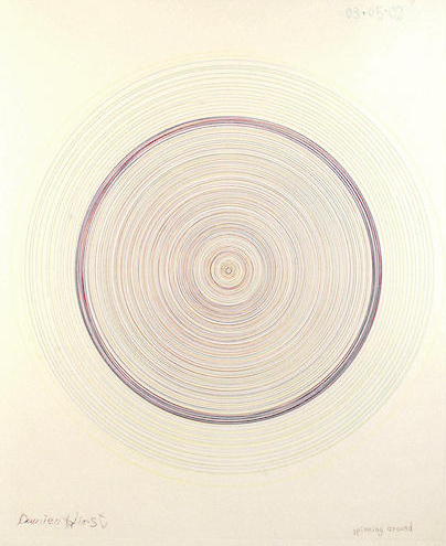Damien Hirst-Spinning around, from In a Spin, the Action of the World on Things-2002