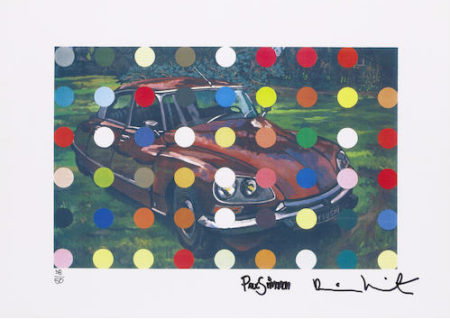 Damien Hirst-Spots Car Painting-2000
