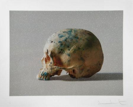 Damien Hirst-Studio Half Skull, Half Face-2009