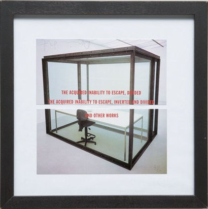 Damien Hirst-The Acquired Inability To Escape, Divided-1993