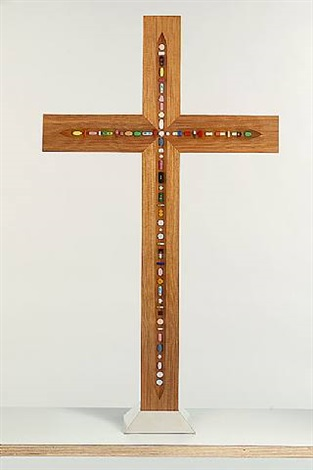 Damien Hirst-The Crucifix-2005