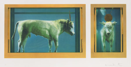 Damien Hirst-The Golden Calf-2009