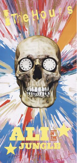 Damien Hirst-The Hours Promotional Poster, The Spin Poster-2005
