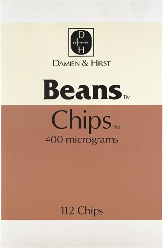 Damien Hirst-The Last Supper Series: Beans, Chips-1999