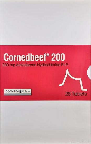 Damien Hirst-The Last Supper Series: Corned Beef-1999