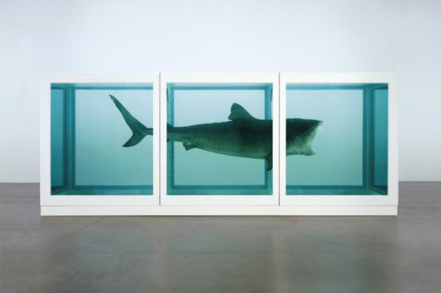 Damien Hirst - The Physical Impossibility of exhibition in New York exhibitions, 2016 - Image courtesy of the artist