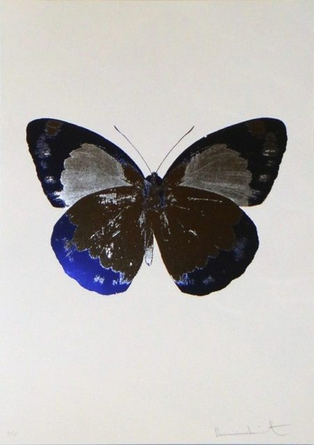 Damien Hirst-The Souls II: Silver Gloss, Westminster Blue-2010