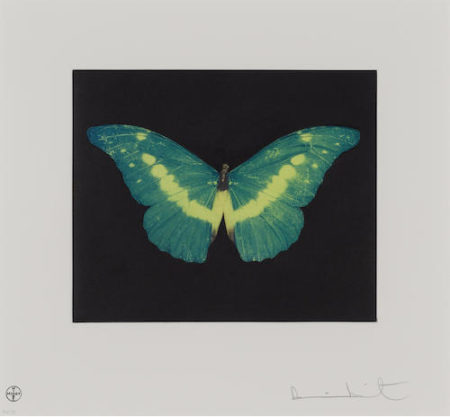 Damien Hirst-To Belie (Green Butterfly)-2008