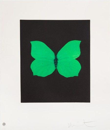 Damien Hirst-Tribulation (from the Butterfly Etching)-2009
